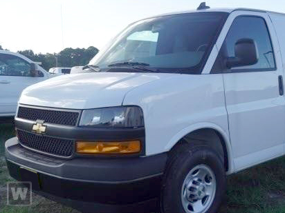 2020 Chevrolet Express 3500 RWD, Empty Cargo Van #L1257847 - photo 1