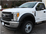 2017 F-550 Regular Cab DRW 4x4,  Hillsboro Platform Body #H0776 - photo 1