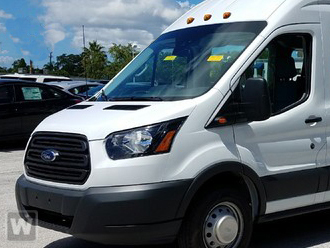 2017 Transit 350 HD High Roof DRW,  Passenger Wagon #CD001 - photo 1
