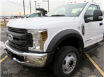 2018 F-550 Regular Cab DRW 4x2,  Parkhurst Platform Body #T81679 - photo 1