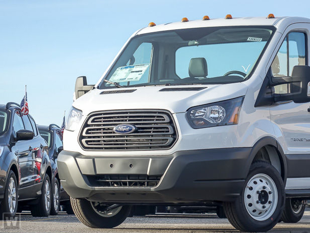 2018 Transit 350 HD High Roof DRW 4x2,  Empty Cargo Van #61768 - photo 1