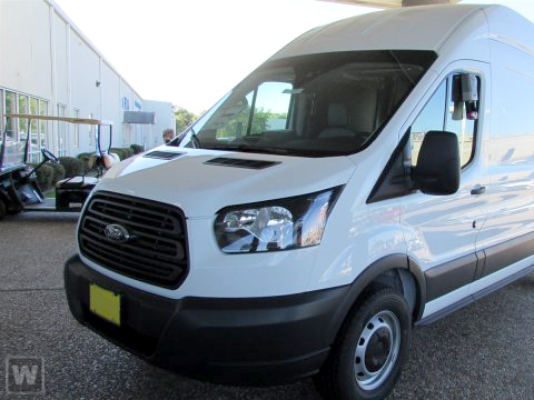 2018 Transit 350 High Roof 4x2, Upfitted Cargo Van #JKA94527 - photo 1
