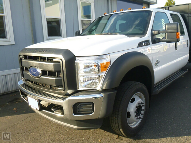 2018 F-450 Crew Cab DRW 4x2,  Knapheide Platform Body #18F221 - photo 1