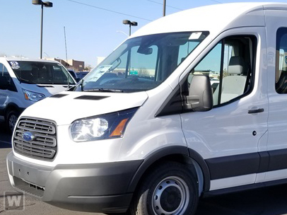 2018 Transit 350 Med Roof 4x2,  Passenger Wagon #F21092 - photo 1