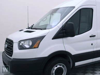 2019 Transit 150 Med Roof RWD,  Weather Guard Upfitted Cargo Van #KKA04252 - photo 1