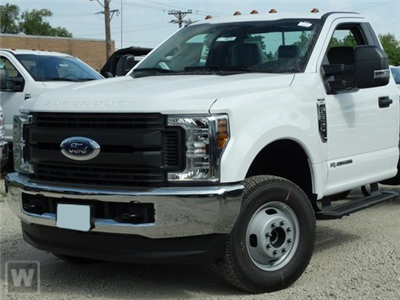 2019 F-350 Regular Cab DRW 4x2,  Scelzi CTFB Contractor Body #KED73286 - photo 1