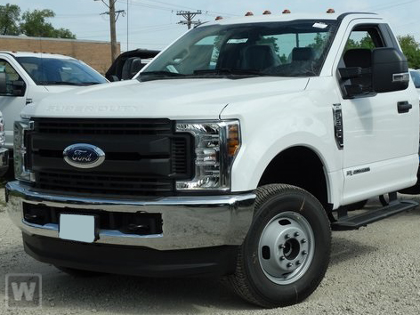 2019 F-350 Regular Cab DRW 4x4, Hillsboro Platform Body #KEF61897 - photo 1