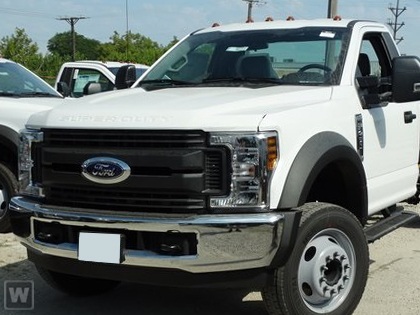 2019 F-450 Regular Cab DRW 4x4, Bedrock Platform Body #K6300 - photo 1