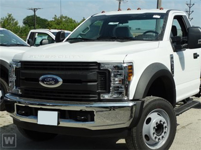 2019 F-450 Regular Cab DRW 4x4,  PJ's Stake Bed #T39159 - photo 1
