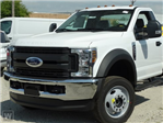 2019 F-550 Regular Cab DRW 4x2,  Scelzi Flatbed #FK0665 - photo 1