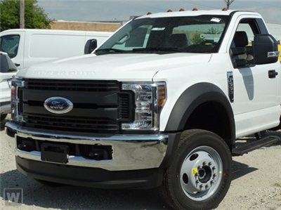 2019 F-550 Regular Cab DRW 4x4, Scelzi WFB Platform Body #F9C684 - photo 1