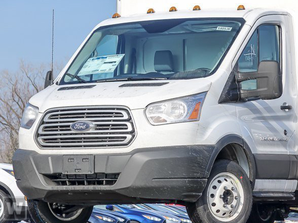 2019 Transit 350 HD DRW 4x2,  Reading Service Utility Van #F19423 - photo 1