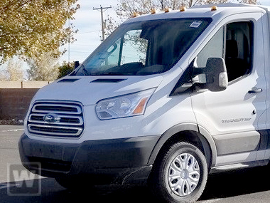 2019 Transit 350 Med Roof 4x2,  Empty Cargo Van #KKA23128 - photo 1