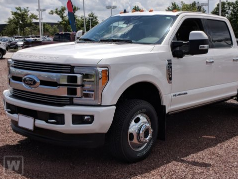 2019 Ford F-350 Crew Cab DRW RWD, Scelzi Contractor Body #CV086032 - photo 1