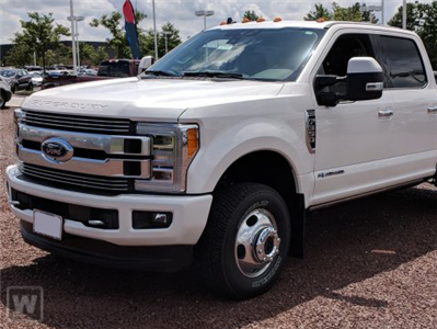 2019 F-350 Crew Cab DRW 4x2,  Scelzi CTFB Contractor Body #KED04136 - photo 1