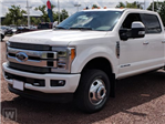 2019 F-350 Crew Cab DRW 4x4,  Hillsboro Platform Body #T90588 - photo 1