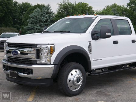2019 F-450 Crew Cab DRW 4x2, Reading Platform Body Stake Bed #T980290 - photo 1