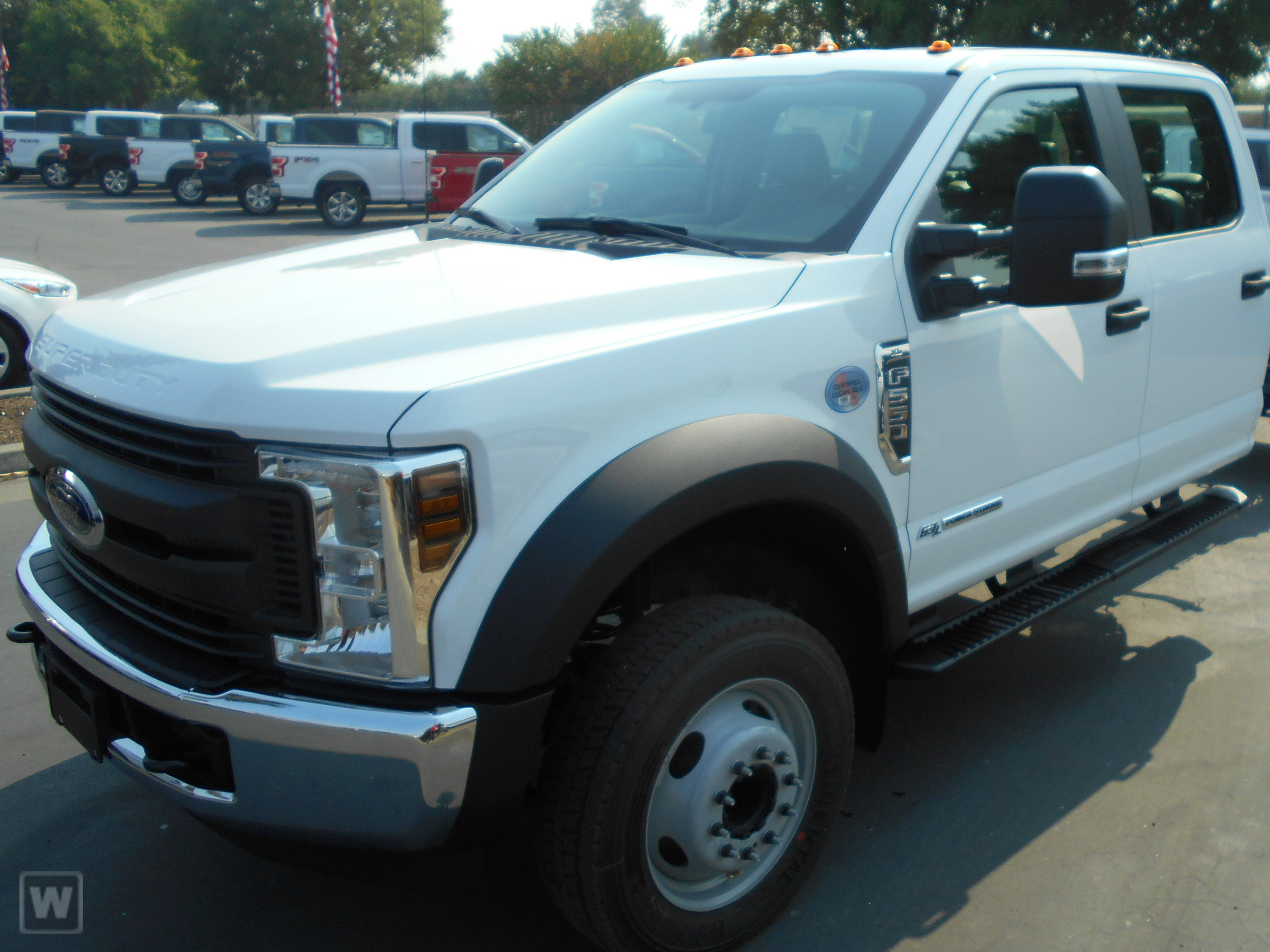 2019 F-550 Crew Cab DRW 4x2, Scelzi Platform Body #KEF86105 - photo 1