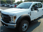 2019 F-550 Crew Cab DRW 4x2,  Scelzi Flatbed #FK3537 - photo 1