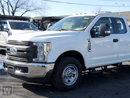2019 F-350 Super Cab DRW 4x4, Royal Utility Crane Body #KED73150 - photo 1