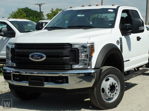 2019 F-450 Super Cab DRW 4x4,  Monroe MTE-Zee Landscape Dump #AT11110 - photo 1