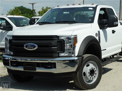 2019 F-450 Super Cab DRW 4x4,  CM Truck Beds RD Model Platform Body #EE14103 - photo 1