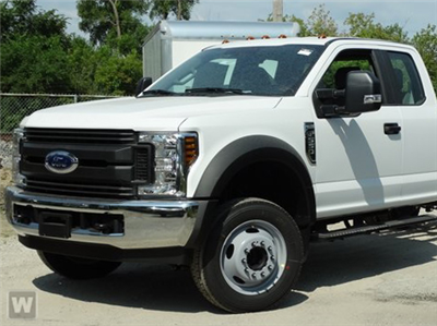 2019 F-550 Super Cab DRW 4x2, Scelzi Platform Body #KEF30028 - photo 1
