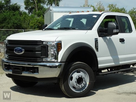 2019 Ford F-550 Super Cab DRW 4x4, PJ's Platform Body #GG58703 - photo 1