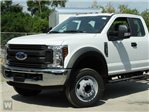 2019 F-550 Super Cab DRW 4x4,  CM Truck Beds Platform Body #1FD1845 - photo 1