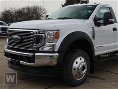 2020 Ford F-450 Regular Cab DRW 4x2, Monroe Work-A-Hauler II Platform Body #LDA01278 - photo 1