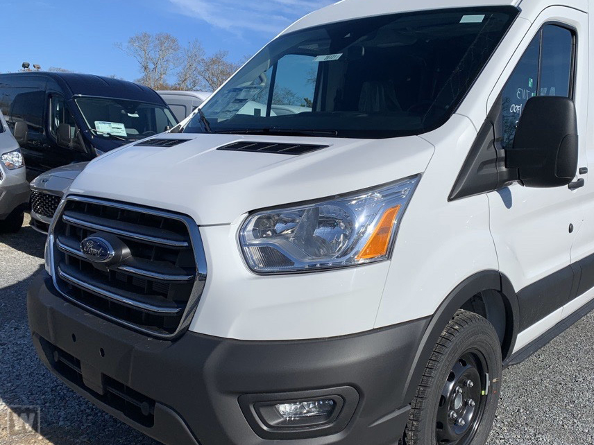 2020 Ford Transit 250 Med Roof AWD, Empty Cargo Van #LKB09158 - photo 1