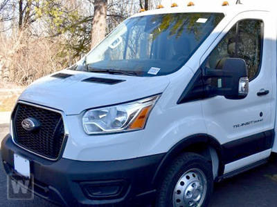 2020 Ford Transit 350 HD DRW 4x2, Rockport Cargoport Cutaway Van #JB75556 - photo 1
