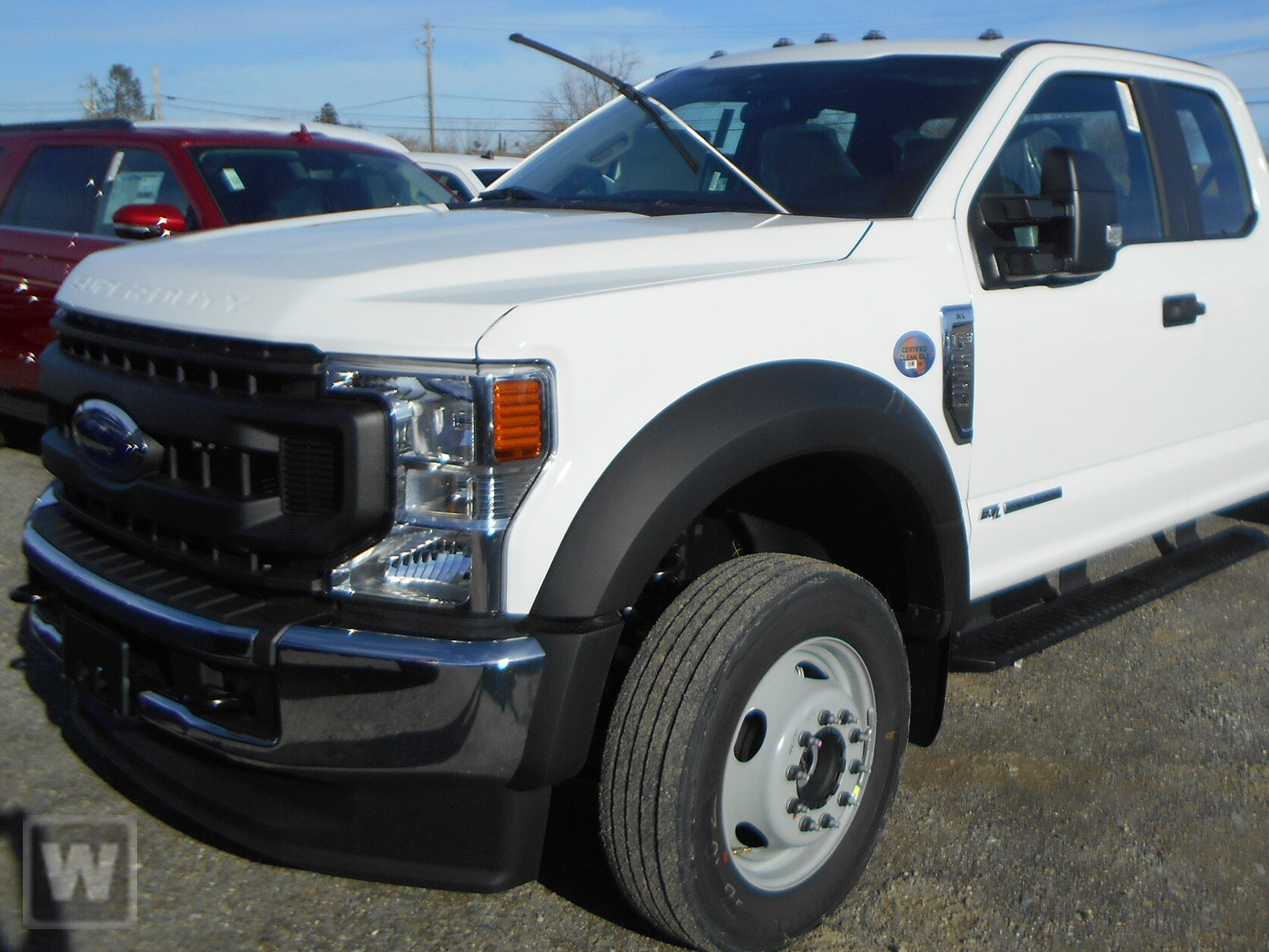 2020 Ford F-550 Super Cab DRW 4x4, Morgan Landscape Dump #F201704 - photo 1