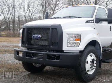 2021 Ford F-650 Regular Cab DRW 4x2, Bedrock Limestone Series Platform Body #RN20894 - photo 1