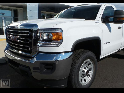 2018 Sierra 3500 Regular Cab DRW 4x4, Cab Chassis #G850790 - photo 1