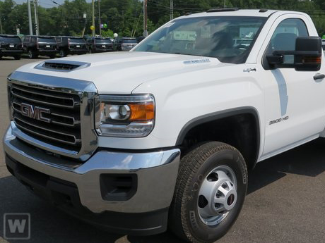 2019 Sierra 3500 Regular Cab DRW 4x4,  Rugby Series 2000 Platform Body #BG90012 - photo 1