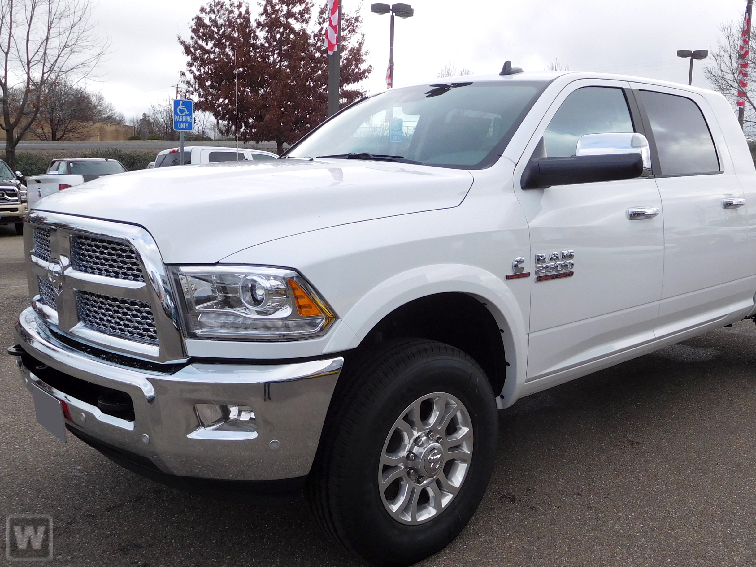 2018 Ram 2500 Mega Cab 4x4,  Pickup #B82176D - photo 1