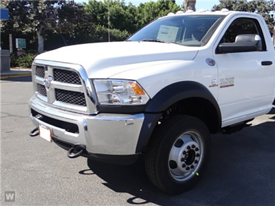 2018 Ram 4500 Regular Cab DRW, Scelzi Contractor Flatbed Contractor Body #J287759 - photo 1
