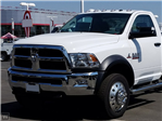 2018 Ram 5500 Regular Cab DRW 4x4,  Scelzi Stake Bed #E2650 - photo 1
