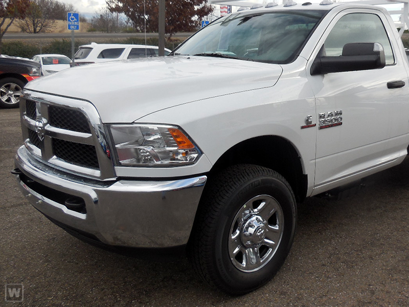 2018 Ram 3500 Regular Cab DRW 4x4,  Reading Steel Stake Bed #J8421 - photo 1