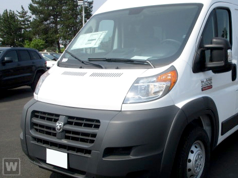 2018 ProMaster 2500 High Roof FWD,  Empty Cargo Van #JE148787 - photo 1