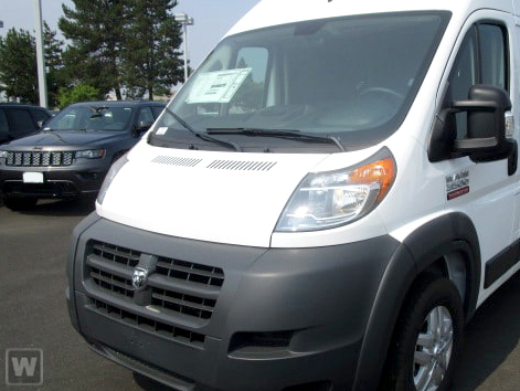 2018 ProMaster 3500 High Roof FWD,  Empty Cargo Van #JE152389 - photo 1