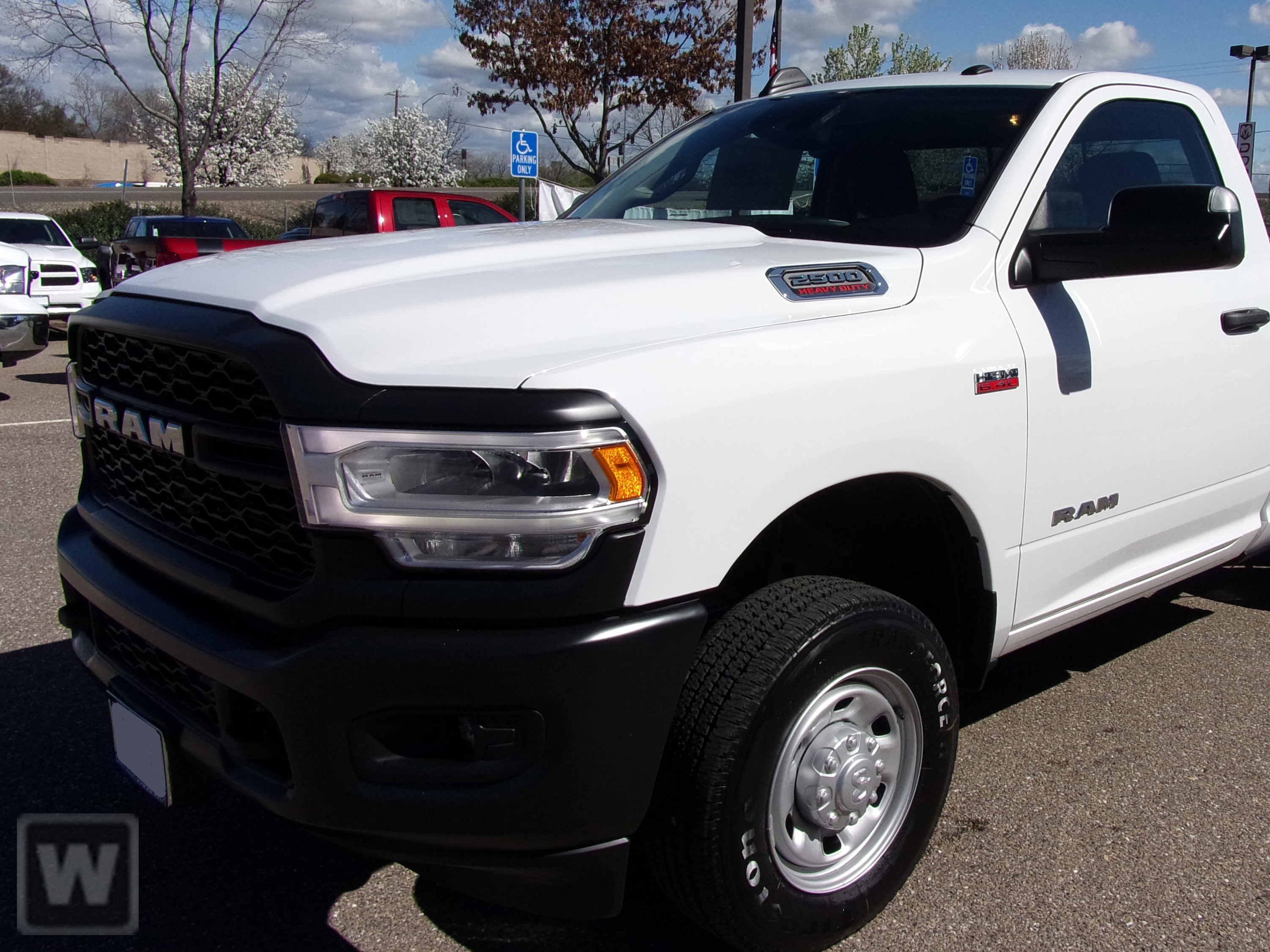 2019 Ram 2500 Regular Cab 4x4, Knapheide Steel Service Body #D191590 - photo 1