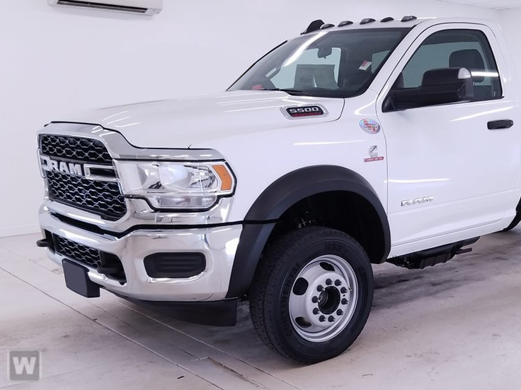 2019 Ram 5500 Regular Cab DRW 4x4, Knapheide Platform Body #KG648123 - photo 1