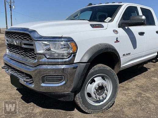 2019 Ram 5500 Crew Cab DRW 4x4,  Knapheide Heavy-Hauler Junior Stake Bed #19R197 - photo 1