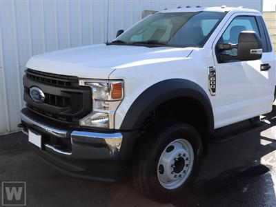 2020 Ford F-600 Regular Cab DRW 4x4, 12' Stake Body #CA09844 - photo 1