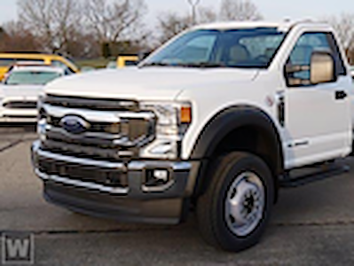 2021 Ford F-600 Regular Cab DRW 4x2, Cab Chassis #FE214679 - photo 1