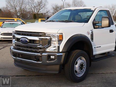 2021 Ford F-600 Regular Cab DRW 4x4, Cab Chassis #FLU10033 - photo 1