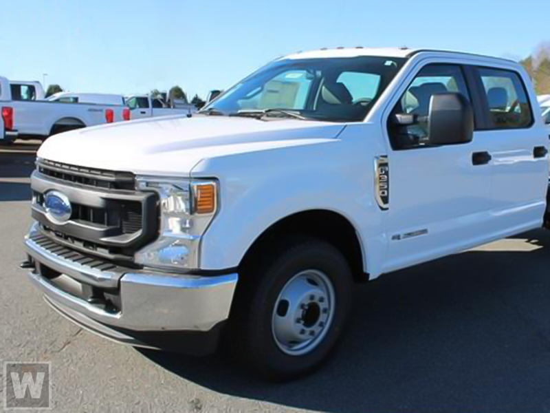 2021 Ford F-350 Crew Cab DRW 4x4, Knapheide KUVcc Service Body #NC78960 - photo 1