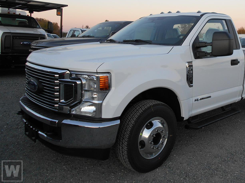 2021 Ford F-350 Regular Cab DRW 4x4, Cab Chassis #FLU10215 - photo 1